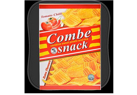 Combe Snack –Tomato Chili Flavor (box – 80g)